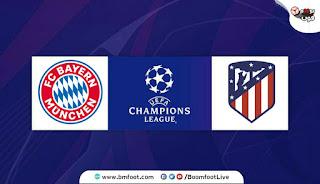 مشاهدة مباراة بايرن ميونيخ ضد أتلتيكو مدريد بث مباشر