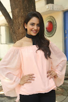 Rakul Preet Singh in lovely Pink Crop Top and Black Trousers at Jaya Janaki Nayaka success meet 008.JPG