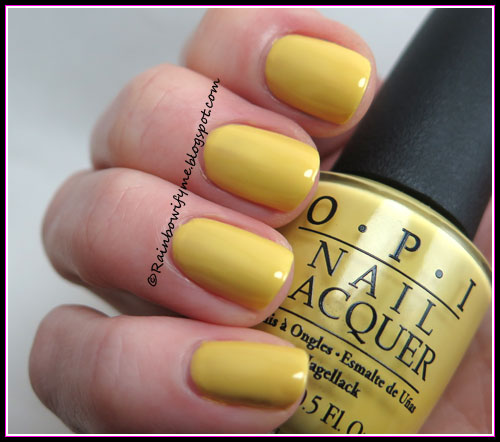 OPI ~ Fiercely Fiona