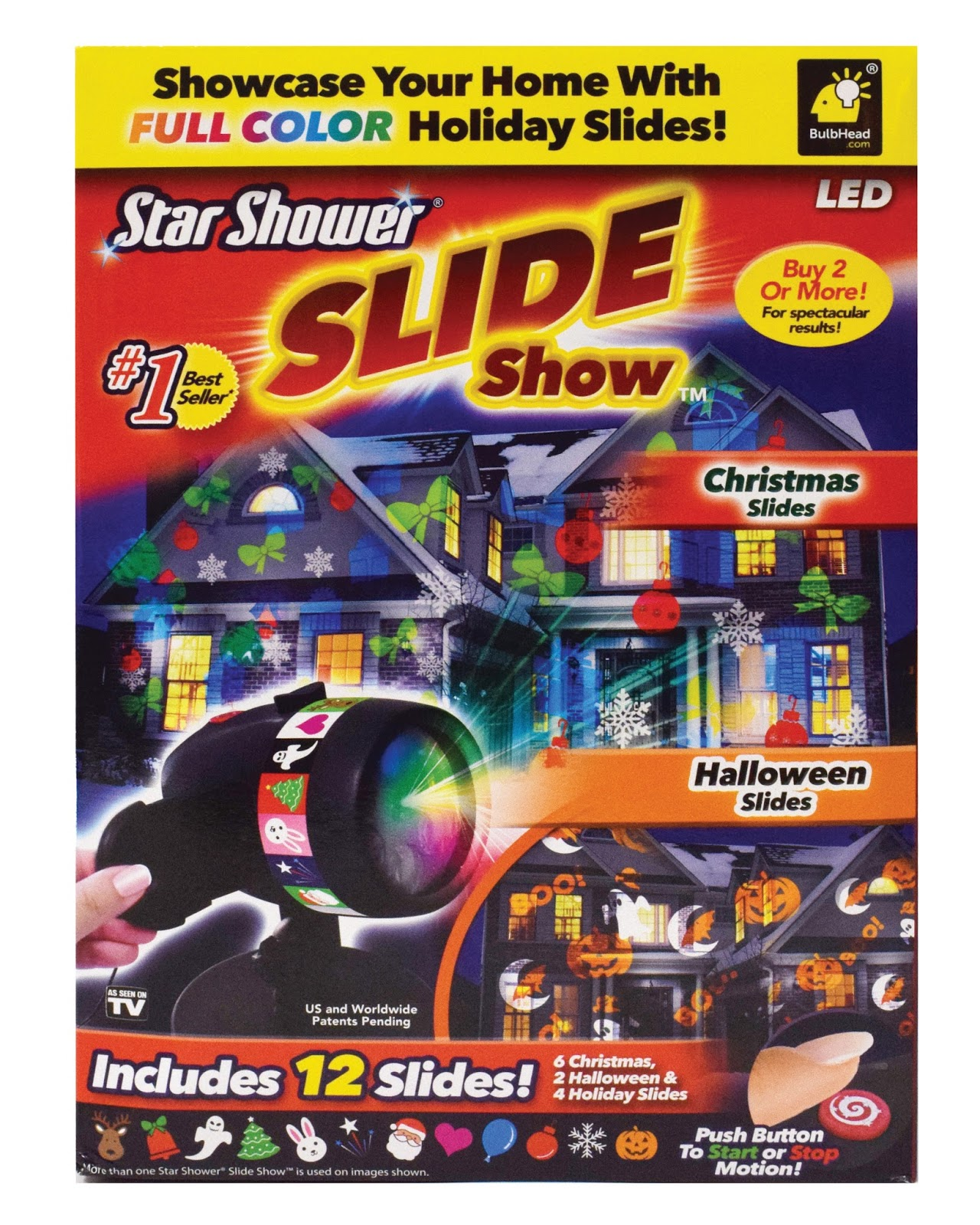 day to day MOMents: Star Shower Window Projector System & Holiday ...