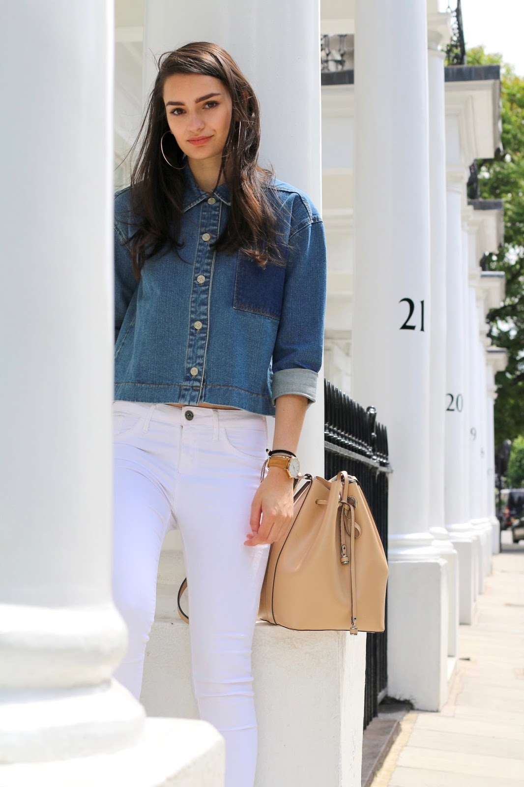 peexo double denim trend summer