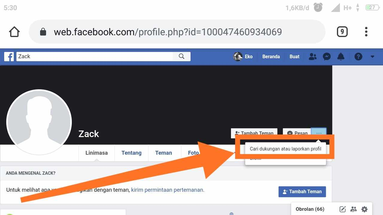 Cara menghentikan hacker fb