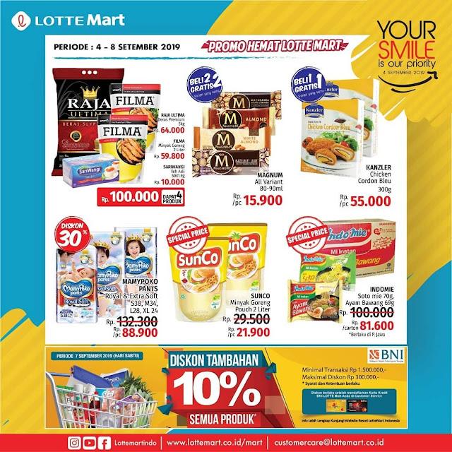 #LotteMart - #Katalog Promo Koran Periode 04 - 08 Sept 2019