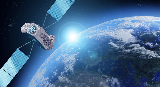 As imagens de satélites que temos são sempre assim...