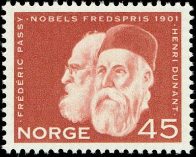 Norway 1961 - Frederic Passy, Henri Dunant
