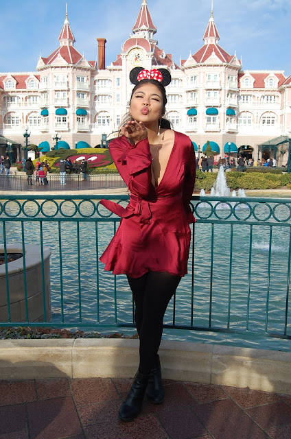 kelly fountain, Disneyland paris, Main Street, fashion