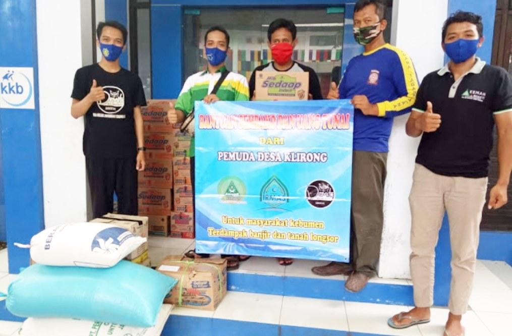 Bantu Warga Terdampak Bencana, Pemuda Klirong Galang Donasi