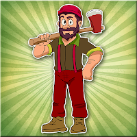 Play Games2Jolly Woodcutter Man Escape