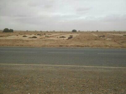 هكتارات للبيع على طول الطريق السياحية بين الجرف و أرفود