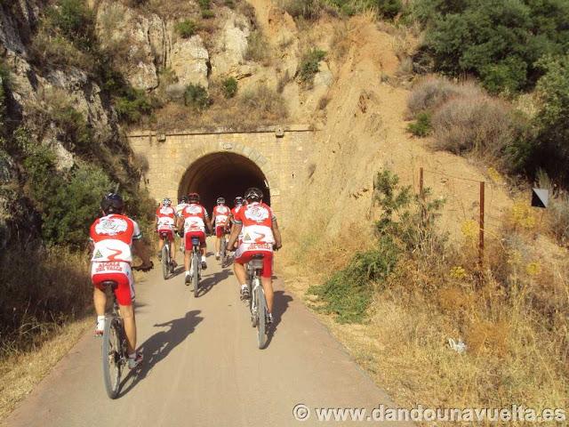 Túnel en la Vía Verde de la Sierra