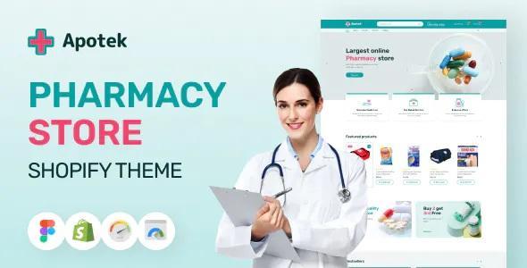 Best Shopify Pharmacy eCommerce Store Theme