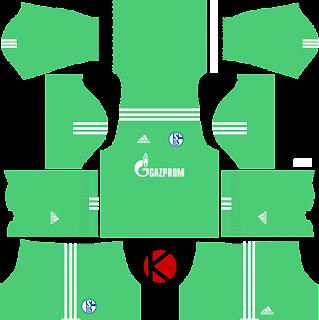 Schalke 04 Kits 2017/18 - Dream League Soccer