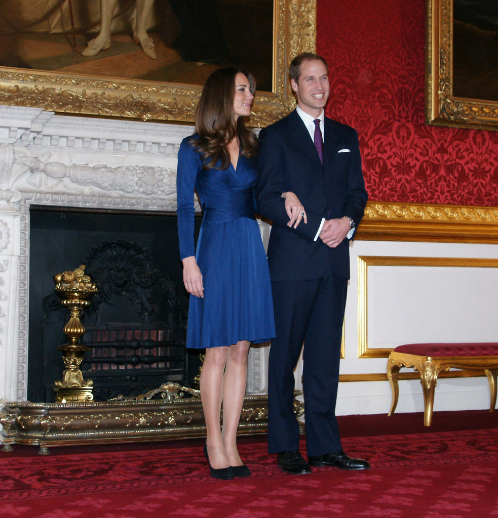 Prince William and Catherine Middleton engagement announcement