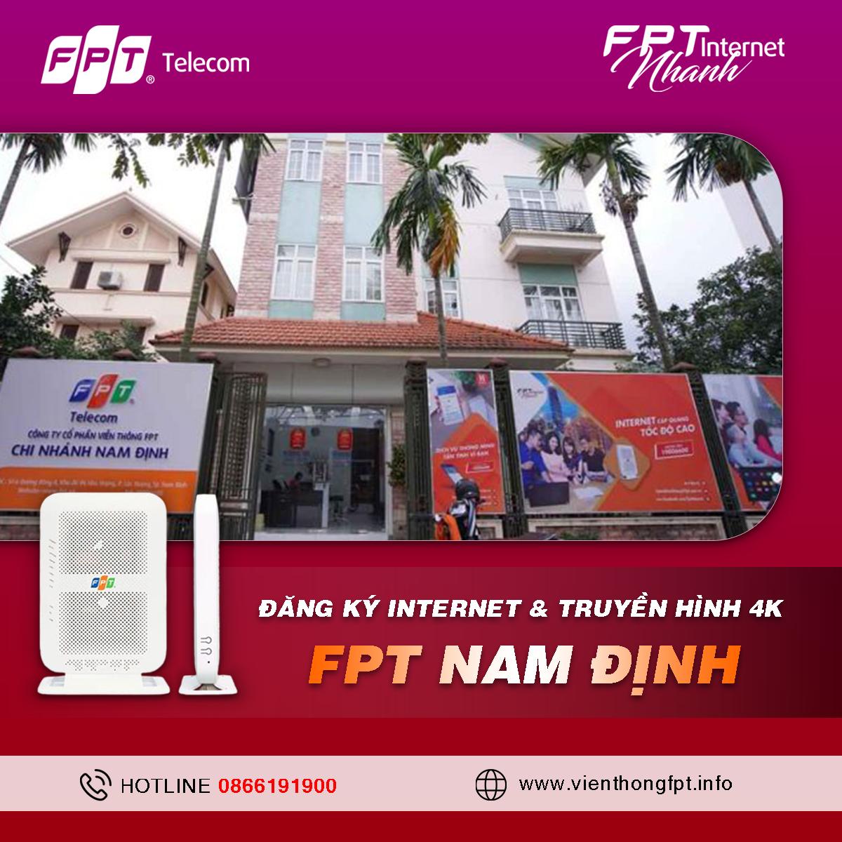 Tổng đài Đăng ký Internet FPT Nam Định