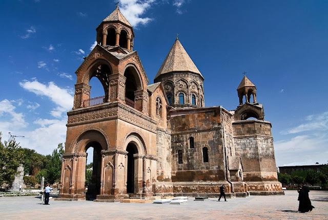 Mother Cathedral of Ejmiatsin, Armenia