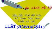 Chế Độ Hưu; Điều Kiện, Mức Hưởng Theo Luật số 58/2014/QH13