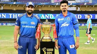 Dream11 IPL 2020 Final Mumbai Indians win 5 wickets