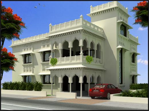 Sanaswadi Pune Bungalow House Design