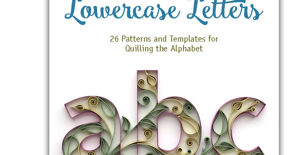 Quilling_LC_Letters_Alphabet_1000px-Book_Cover Quilling Template Letter H on
