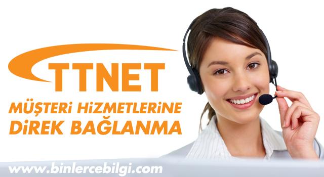 TTNET (Türk Telekom) Müşteri Hizmetlerine Direk Bağlanma