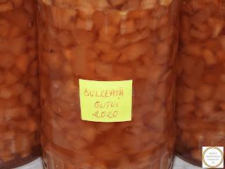 Dulceata de gutui traditionala reteta,