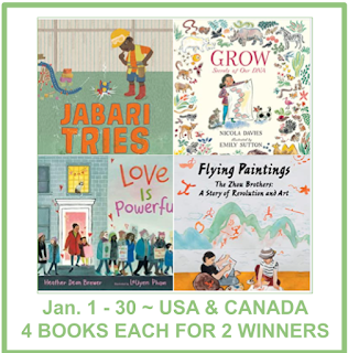 Candlewick Press picture book 4-book giveaway