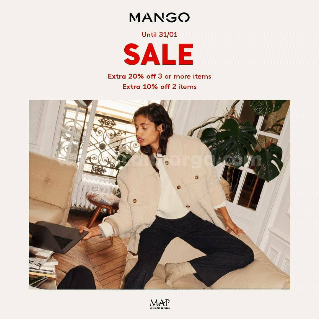 MANGO Get an Extra 20% Off! When Buy 3 Items or More