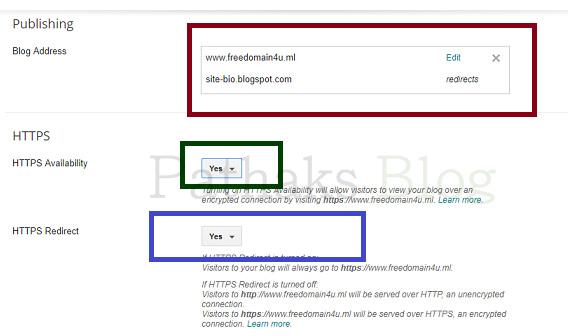 Blogger Https Custom Domain [100% Working] Free