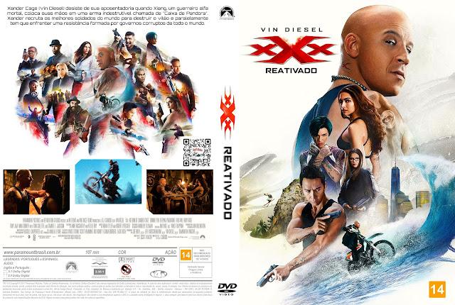 Capa DVD xXx Reativado [Custom]