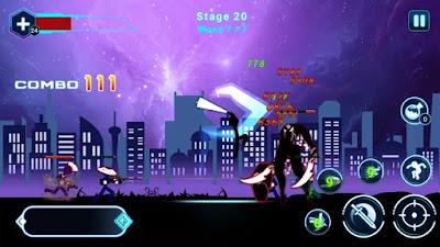 لعبة Stickman Ghost 2 مهكرة للاندرويد