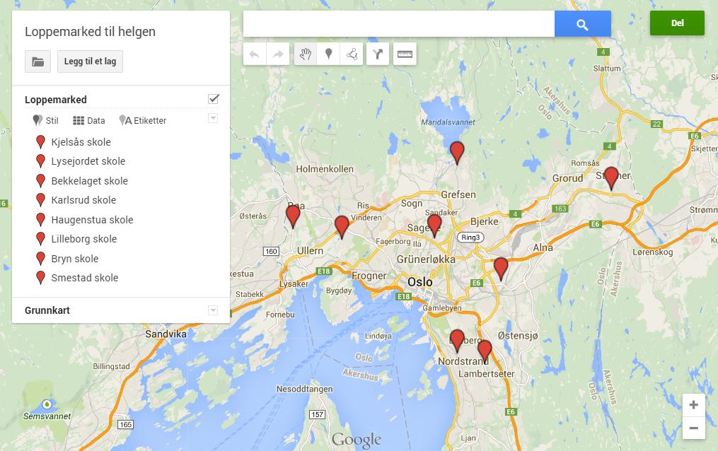 google kart veibeskrivelse Hvordan lage ditt eget Google kart raskt og enkelt – Teknodag.com google kart veibeskrivelse