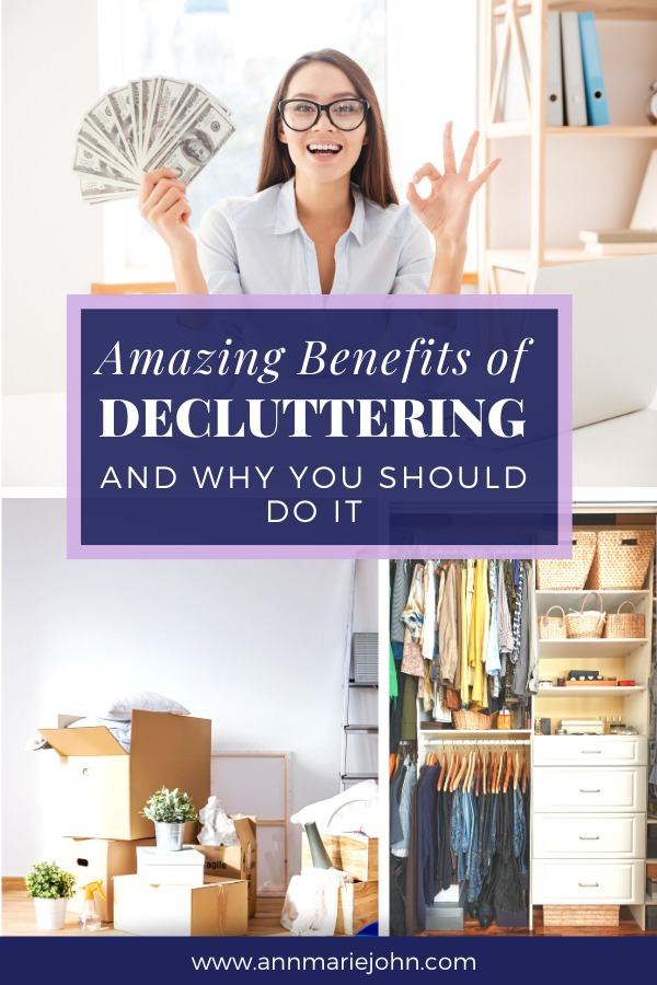 Benefits of Decluttering Pinterest
