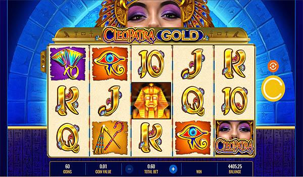 Main Gratis Slot Indonesia - Cleopatra Gold IGT