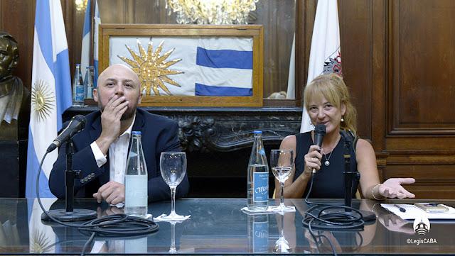 El cocinero Dante Liporace es personalidad destacada por la iniciativa la diputada Carolina Estebarena