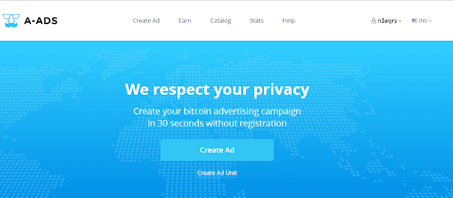 Ktếm tiền với mạng quảng cáo cpm trả tiền bằng bitcoin
