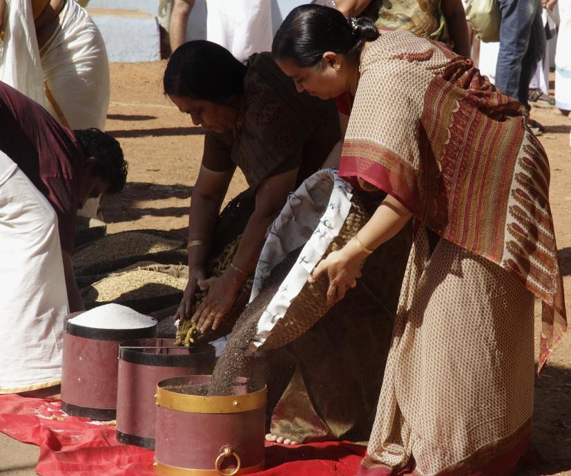 rituel pooja hindou kerala