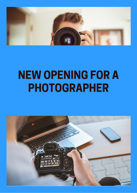 JOB OPENING FOR A PHOTOGRAPHER IN SURULERE LAGOS