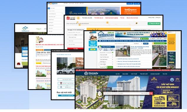 web rao vặt bất động sản