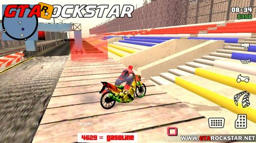 Drag Race Mod para GTA San Andreas Android