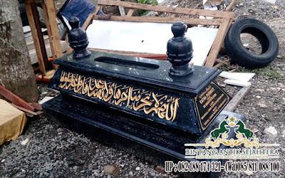 Granit Untuk Kuburan, Kijing Makam Granit Bokoran, Model Kijing Bokoran Granit
