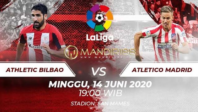 Prediksi Athletic Bilbao Vs Atletico Madrid, Minggu 14 Juni 2020 Pukul 19.00 WIB