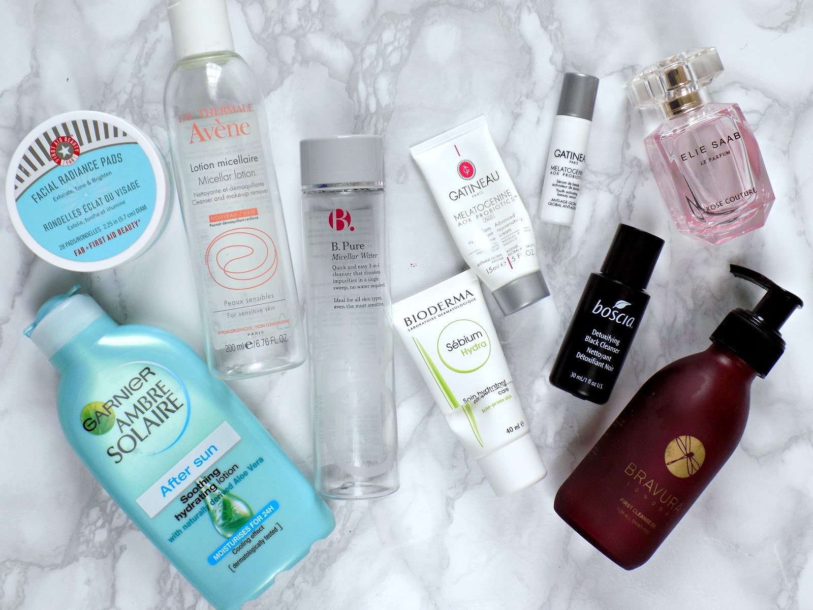 Empties: products I've used up lately