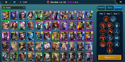 RAID Shadow Legends my Champion Collection