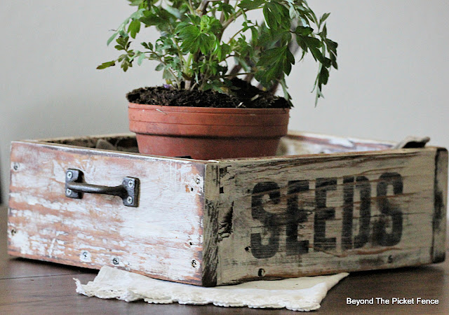 Build and Stencil a Seed Crate