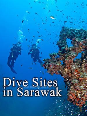 Sarawak Diving Sites