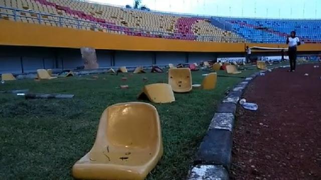 Kapolda Minta Pelaku Perusakan Stadion Jakabaring Ditangkap