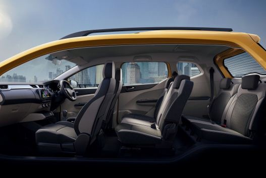 Renault Triber 2019 Full Interior View
