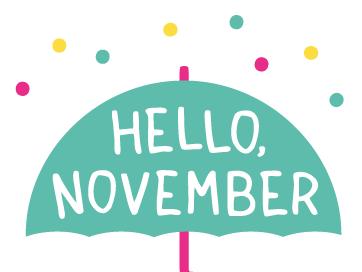 Hello November ♡