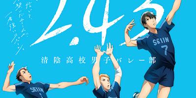 تقرير انمي 2.43: Seiin Koukou Danshi Volley-bu (فتيان نادي الكرة الطائرة لثانوية سيين)