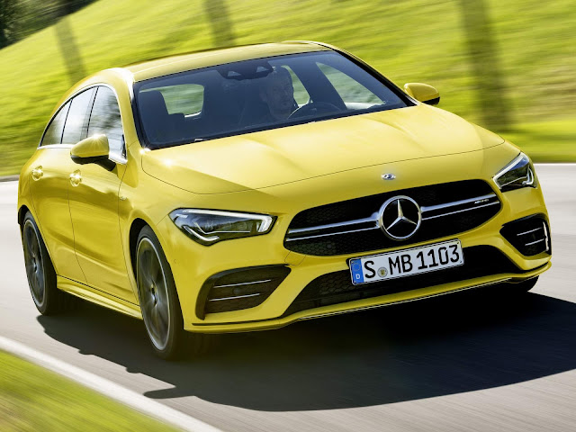 Mercedes CLA 35 Shooting Brake 2020